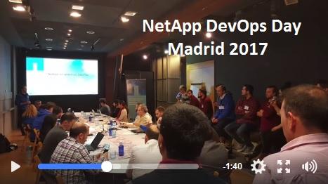 Event: NetApp DevOps Day Madrid