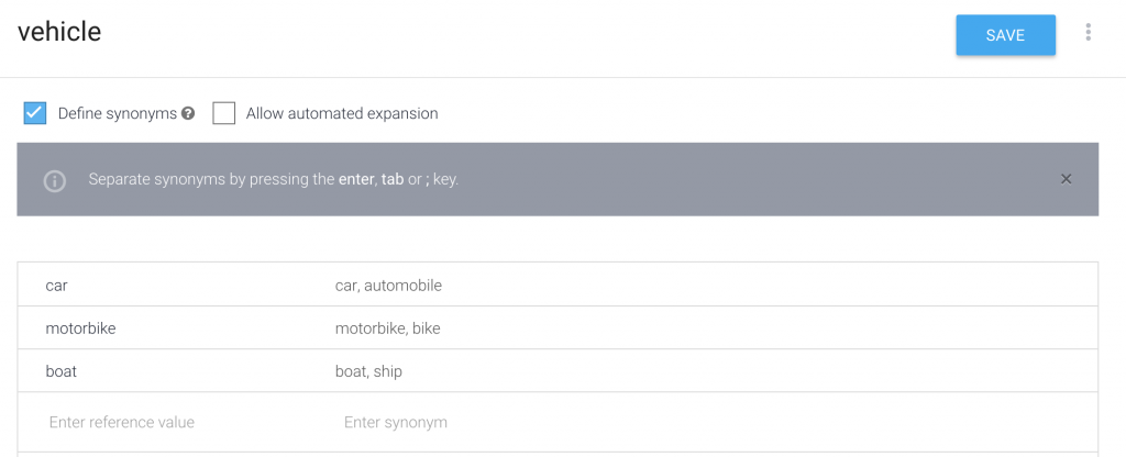 Dialogflow 4 – Using entities, parameters and contexts – Jamarmu